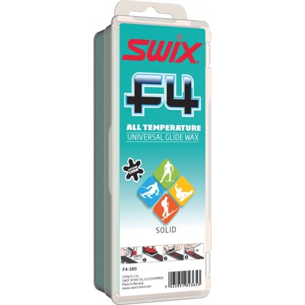 Swix Sklzný vosk F4 - nízkofluórový vosk na lyže