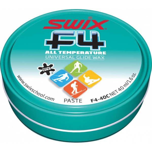 Swix Sklzný vosk F4 pasta - easy sklzný vosk